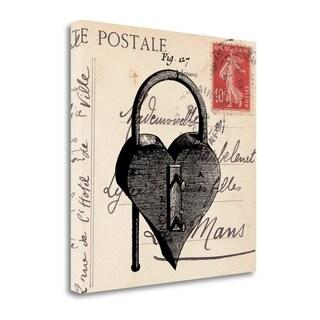 Key To My Heart II By Sabine Berg,  Gallery Wrap Canvas