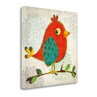Chirpier By Tandi Venter,  Gallery Wrap Canvas