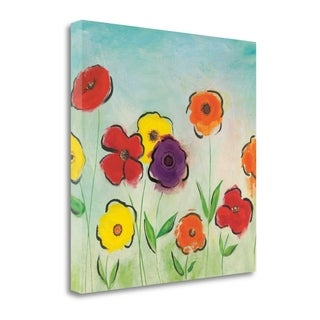 Flowering Garden II By Sarah Horsfall,  Gallery Wrap Canvas