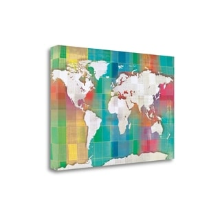 Color My World By Tandi Venter,  Gallery Wrap Canvas
