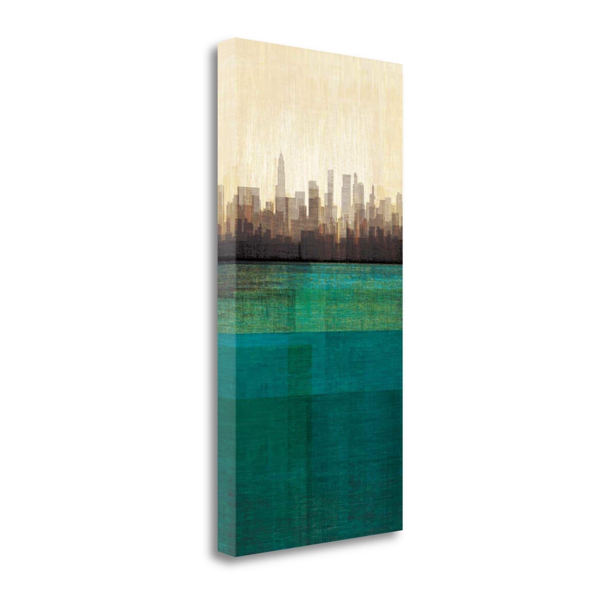 Amori De metropolitan jewel-box - emeraldamori, gallery wrap canvas