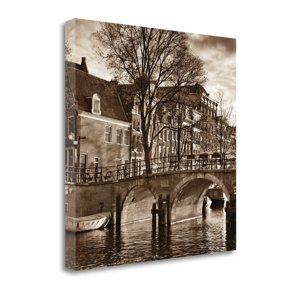 Autumn In Amsterdam II By Jeff Maihara, Gallery Wrap Canvas