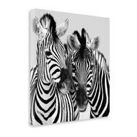 Namibia Zebras By Nina Papiorek,  Gallery Wrap Canvas