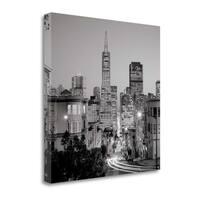 San Francisco Skyline - 1 By Alan Blaustein,  Gallery Wrap Canvas