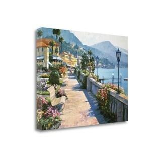 Bellagio Promenade By Howard Behrens, Gallery Wrap Canvas
