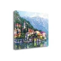 Reflections Of Lake Como By Howard Behrens,  Gallery Wrap Canvas