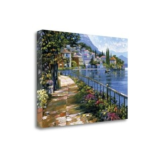Sunlit Stroll By Howard Behrens, Gallery Wrap Canvas (5 options available)