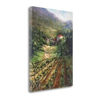 Tuscany Vineyard By Art Fronckowiak, Gallery Wrap Canvas