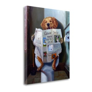 Dog Gone Funny By Lucia Heffernan, Gallery Wrap Canvas