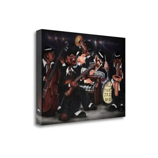 All That Jazz-Baby By Leonard Jones, Gallery Wrap Canvas
