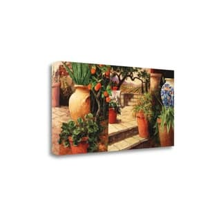 Turo Tuscan Orange By Art Fronckowiak, Gallery Wrap Canvas