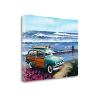 Surf City By Scott Westmoreland,  Gallery Wrap Canvas