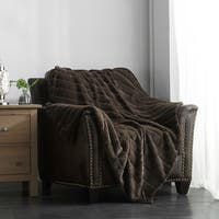 Chic Home Lovi Faux Fur Ultra Plush Micromink Throw