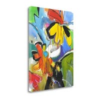 Fresh Daisies By Emily Weil,  Gallery Wrap Canvas