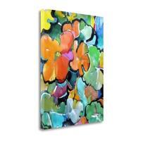 Nasturtiums By Emily Weil,  Gallery Wrap Canvas