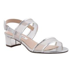 Women's Nina Ganice Slingback Silver Metallic Foil Mesh/Polyurethane (More options available)