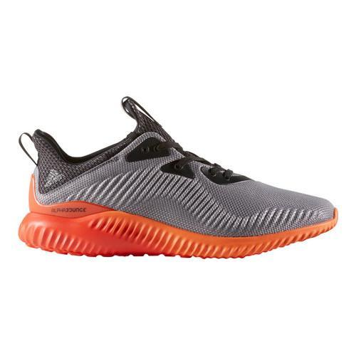 10c622322 Shop Men s adidas AlphaBOUNCE Running Shoe Grey Utility Black F16 Energy  S17 - Free Shipping On Orders Over  45 - Overstock - 15427417