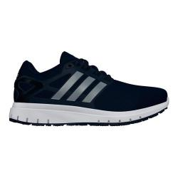 Men's adidas Energy Cloud WTC Running Shoe Collegiate Navy/Silver Metallic/Core Black