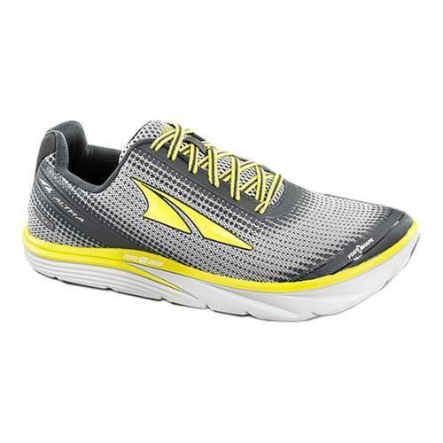 Men's Altra Footwear Torin 3 Road Running Shoe Grey/Lime