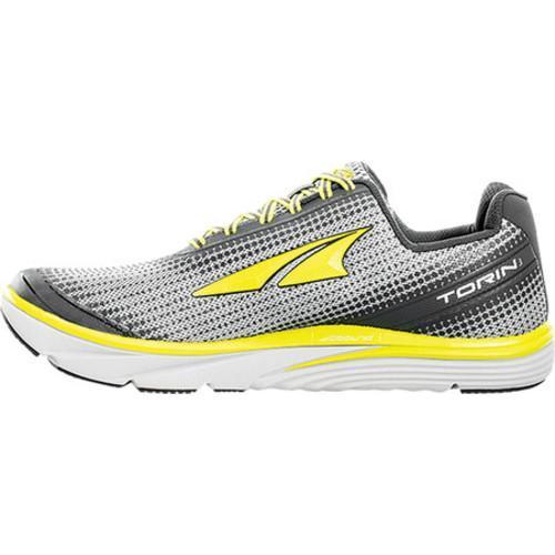 Men's Altra Footwear Torin 3 Road Running Shoe Grey/Lime - Thumbnail 1