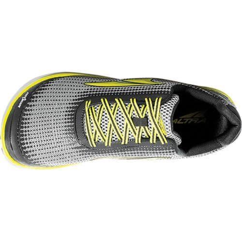 Men's Altra Footwear Torin 3 Road Running Shoe Grey/Lime - Thumbnail 2