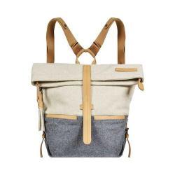 Women's Sherpani Amelia Backpack Buff/Chai Boiled Wool/Leather