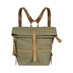 Women's Sherpani Amelia Backpack Fern Waxed Canvas/Leather