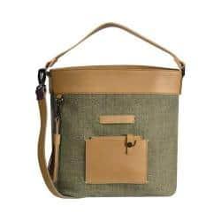 Women's Sherpani Boheme Cross Body Bag Fern Waxed Canvas/Leather|https://ak1.ostkcdn.com/images/products/182/319/P21896577.jpg?impolicy=medium