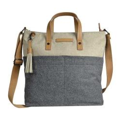 Women's Sherpani Faith Ethos Wool Satchel Buff/Chai