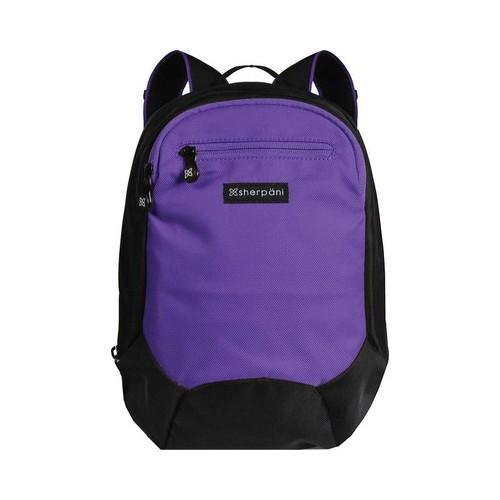 14df8924abe Shop Women s Sherpani Nova Origins Small RFID Backpack Purple - Free  Shipping Today - Overstock - 15447117
