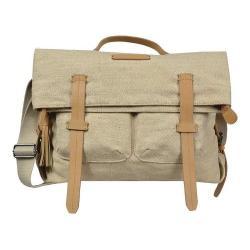 Women's Sherpani Petra Ethos Jute Messenger Bag Vachetta