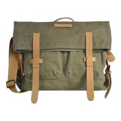 Women's Sherpani Petra Ethos Waxed Canvas Messenger Bag Fern