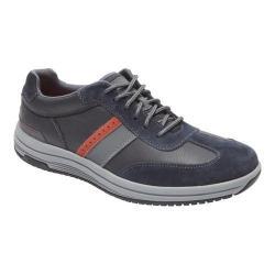 Men's Rockport Power Pace U-Bal Lace Up Shoe New Dress Blues Leather
