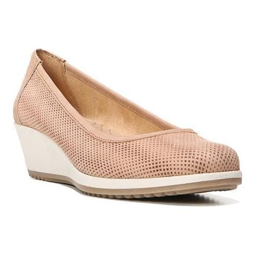 78b535068ba Shop Women s Naturalizer Bronwyn Wedge Pump Gingersnap Leather - Free  Shipping Today - Overstock - 15622119
