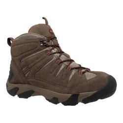 Men's AdTec 9640C Waterproof Composite Toe Work Hiker Boot Brown Suede/Leather