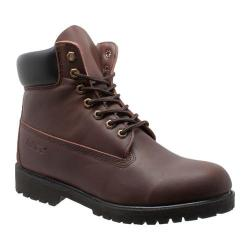 Men's AdTec 9680 6in Work Boot Brown Leather
