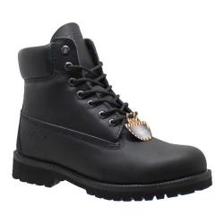 Men's AdTec 9688 6in Steel Toe Work Boot Black Leather