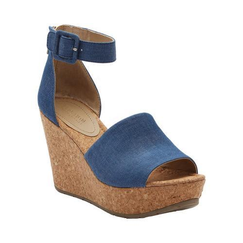 Shop Women s Kenneth Cole Reaction Sole Quest Platform Wedge Sandal Blue  Denim - Free Shipping Today - Overstock - 15633571 b82f78120054