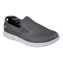 Men's Skechers On the GO Glide Response Slip On Sneaker Charcoal   Shopping The Best Deals on Slip ons