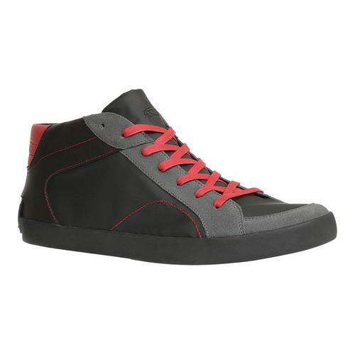 Men's GBX Boone High Top Sneaker Black Suede