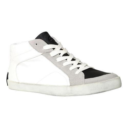 Men's GBX Boone High Top Sneaker White Suede