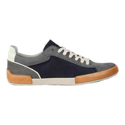 Men's GBX Bran Sneaker Grey Suede - Thumbnail 1