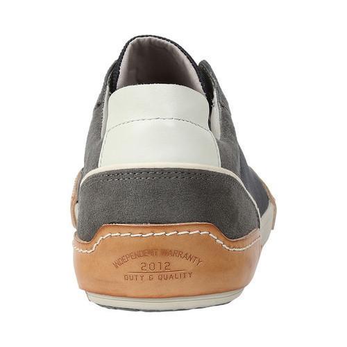 Men's GBX Bran Sneaker Grey Suede - Thumbnail 2