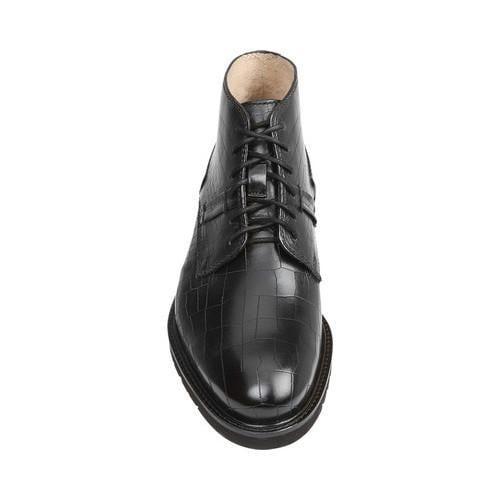 Men's GBX Breccan Chukka Boot Black Leather - Thumbnail 2