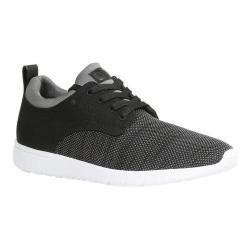 Men's GBX Arco Sneaker Black/Grey Woven Denim