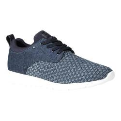 Men's GBX Arco Sneaker Dark Blue/Blue Woven Denim