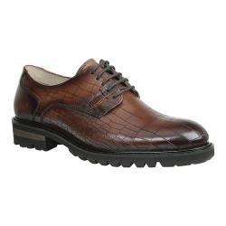 Men's GBX Brenner Plain Toe Derby Tan Leather