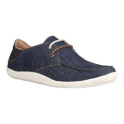 Men's GBX Effit2 Moc Toe Shoe Blue Denim