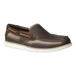 Men's GBX Element Moc Toe Loafer Brown Leather