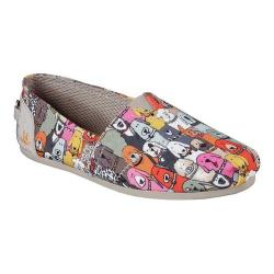Women's Skechers BOBS Plush Wag Party Alpargata Multi